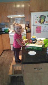 cuisine avec bébé