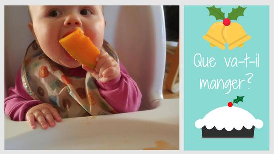 Bébé a 6 mois dans le temps des Fêtes?