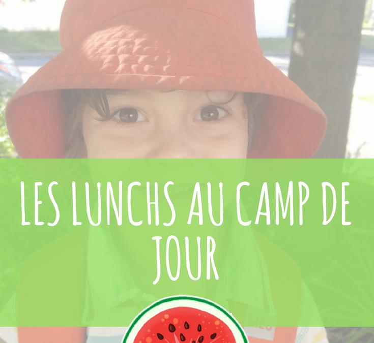 Quoi mettre dans la boîte à lunch au camp de jour?